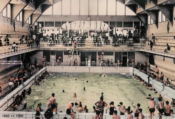 Les anciens bains et thermes mnema for Hotel des bains paris delambre